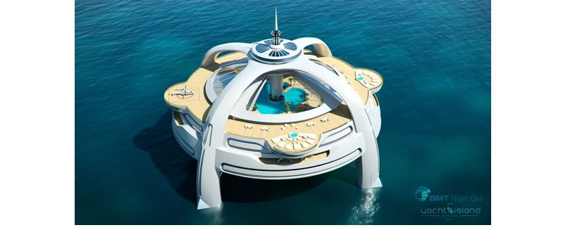 Utopia Yacht Island Design